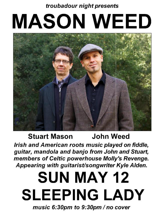 Mason Weed with Kyle Alden Thayer in Marin County